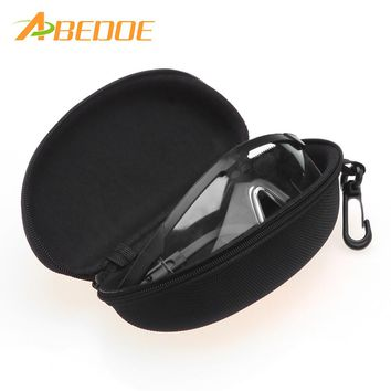 ABEDOE Hot Glasses Case Box For men Women Reading Glasses Box with Zippered Hard Case Portable Glasses Protector