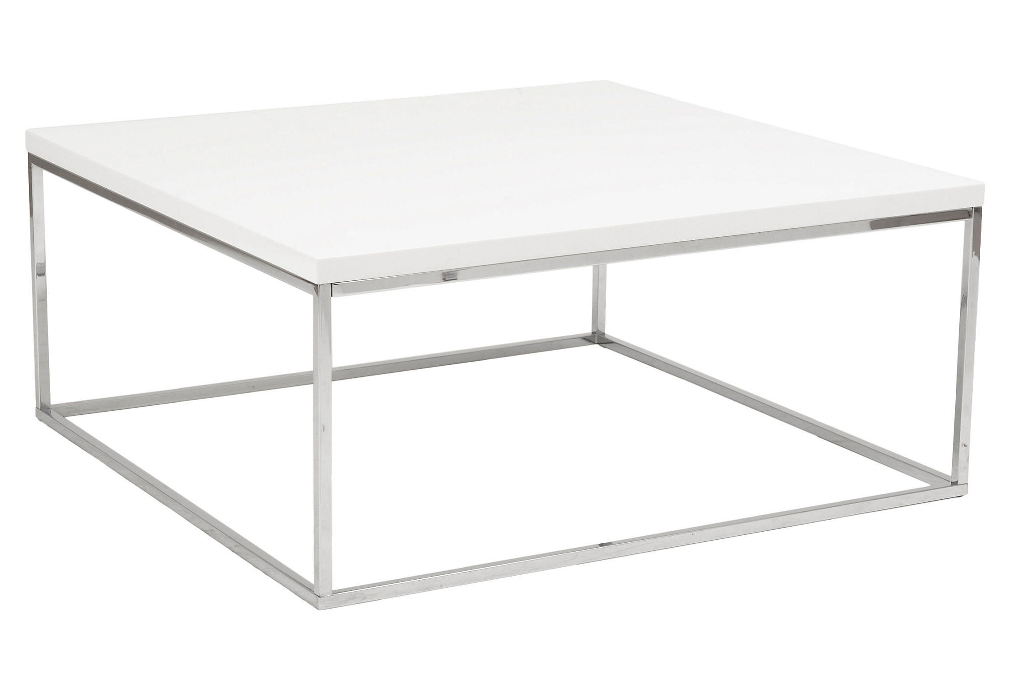 Teresa 36 Square Coffee Table White From One Kings Lane