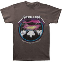 Metallica Men's  MOP Vintage T-shirt Grey