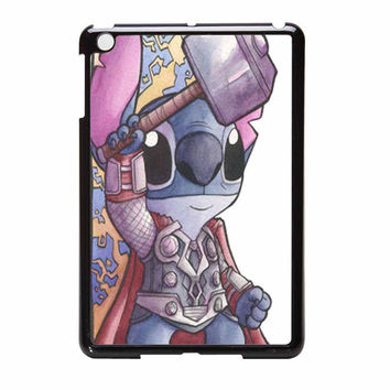 Stitch As Loki And Thor From Asgard 2 iPad Mini Case