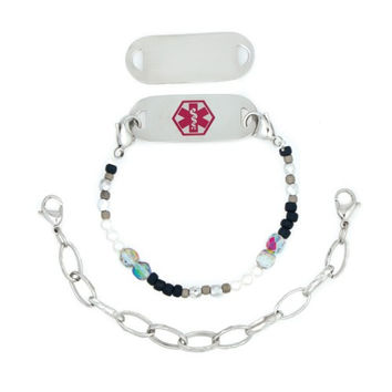 Times Square Interchangeable Medical ID Bracelet Set