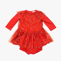 Stella McCartney Mouse Tulle Dress with Stars - 381730 SFK20