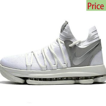 fashion shoe buy Big Boys Youth Basketball Shoes Nike KD 10 Stil f8320670e