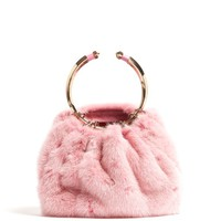 Bebop fur ring clutch bag | Valentino | MATCHESFASHION.COM US