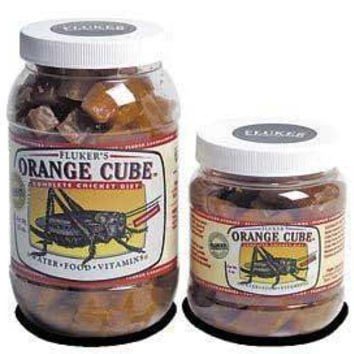 Fluker's Orange Cube Complete Cricket Diet 1 Gallon