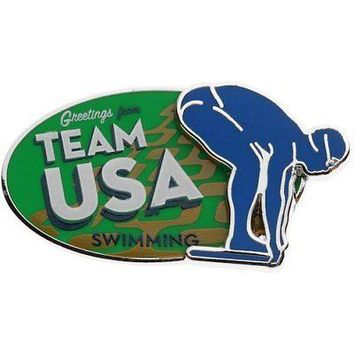Licensed Sports Team USA Swimming Pin on Pin KO_20_2