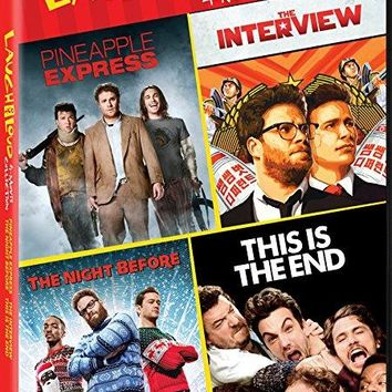 James Franco & Seth Rogen - Interview, the 2014 Night Before, the / Pineapple Express / This Is the End - Set
