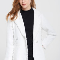 Scarlett Pearl Embellished Jacket Discover the latest fashion trends online at storets.com