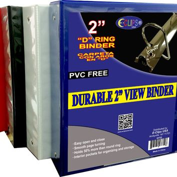 "Durable 2"""" View Binder - Assorted Colors Case Pack 12"