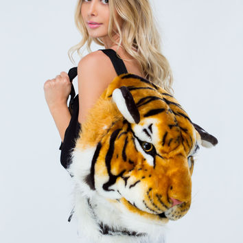 Ferosh Tiger Head Backpack