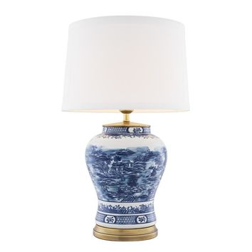 Ceramic Table Lamp | Eichholtz Chinese Blue