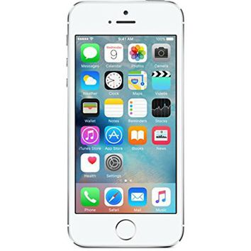 Apple iPhone 5S - 32GB - ATT - Silver (Certified Refurbished)