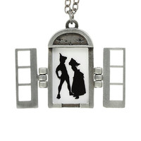 Disney Peter Pan Peter & Wendy Window Necklace