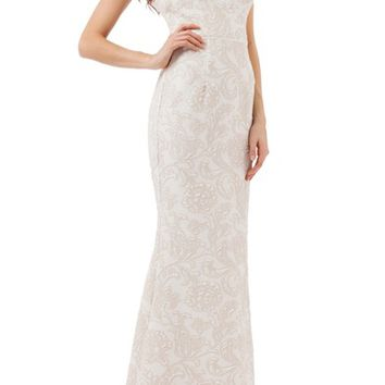 JS Collections Halter Gown | Nordstrom