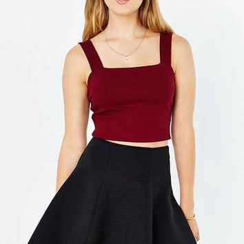Silence + Noise Alba Cropped Top