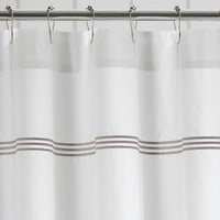 GRAND EMBROIDERED SHOWER CURTAIN