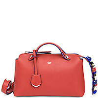 Fendi - By The Way Small Studded Leather Satchel - Saks Fifth Avenue Mobile