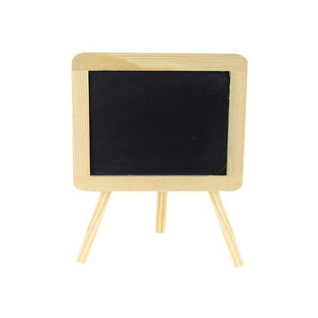 Chalkboard Wood Easel Sign, Rectangular, 6x5-Inch