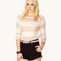 Rugby Striped Raglan Sweater | FOREVER 21 - 2043507023