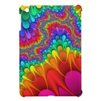 Rainbow Splash iPad Mini Cover from Zazzle.com
