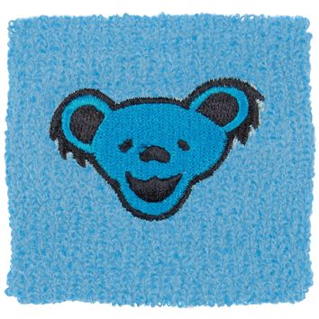 Grateful Dead - Blue Bear Wristband