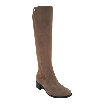 Marc Fisher Incept Wide Calf Taupe Tall Shaft Boots