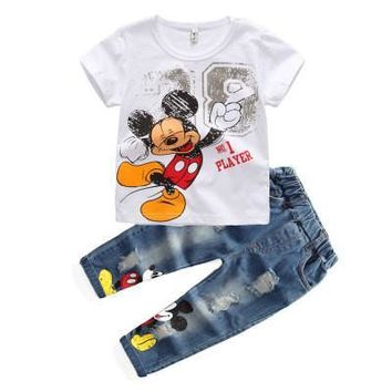 Baby boy clothing set Mickey Mouse