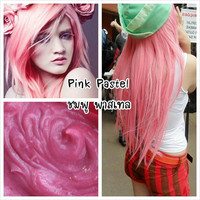 Pink Emo Scene Semi-Permanent Treatment Nondamaging Hair Dye