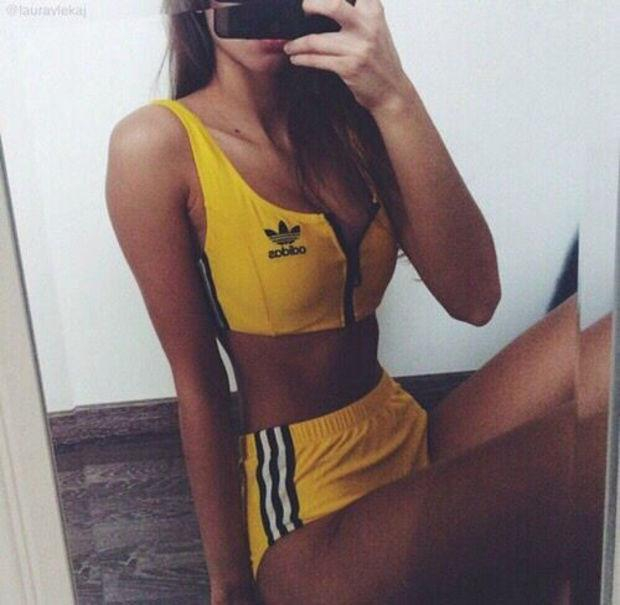adidas swimming costume with shorts