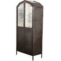 One Kings Lane - Well-Traveled Pieces - Anderson Metal Wardrobe