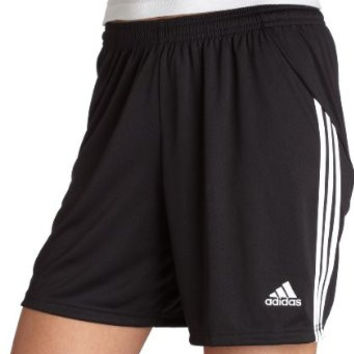 Adidas Originals Womens Black Three Stripe Elebase Drawstring Shorts Size XS