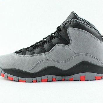 "[Free Shipping ]Air Jordan 10 Retro ""Infrared"" GS Athletic Sneakers [310806 023] Basketball Sneaker"