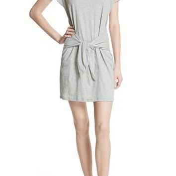 Joie Alyra Tie Waist Cotton T-Shirt Dress | Nordstrom