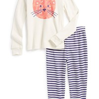 Tucker + Tate Fitted Pajamas (Baby Girls)