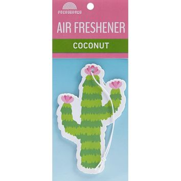 Cactus Air Freshener - Coconut
