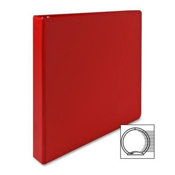"""Sparco Products 3-Ring Binder, 1"""""""" Capacity, 11""""""""x8-1/2"""""""", Red Case Pack 13"""