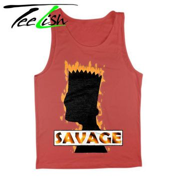 Savage sleeveless t shirts for men