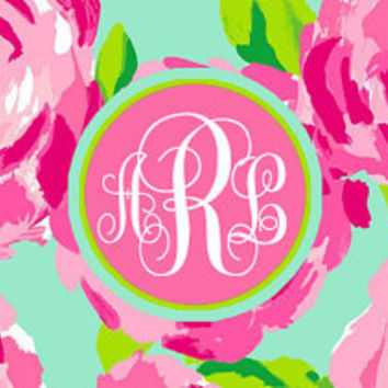 Facebook Cover Photo Monogram Lilly Pulitzer Pattern First Impression