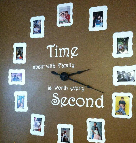 Large Wall Clock Kit Includes Vinyl From Mrsmo5 On Etsy