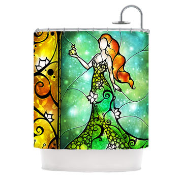 "Mandie Manzano ""Fairy Tale Frog Prince"" Shower Curtain"