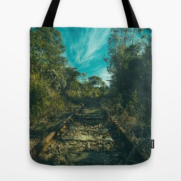 Abandoned Tote Bag by Mixed Imagery