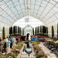 Minneapolis wedding- Como Park Zoo & Conservatory
