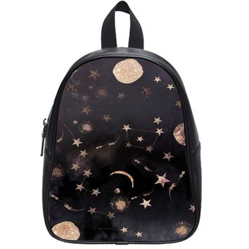 Constellations Painting School Backpack Large