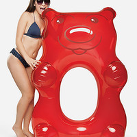 Giant Red Gummy Bear Inflatable Pool Float | Pool Floats