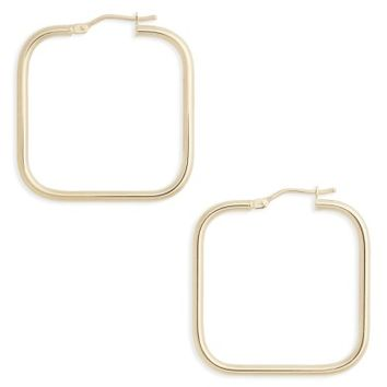Bony Levy Square Hoop Earrings | Nordstrom