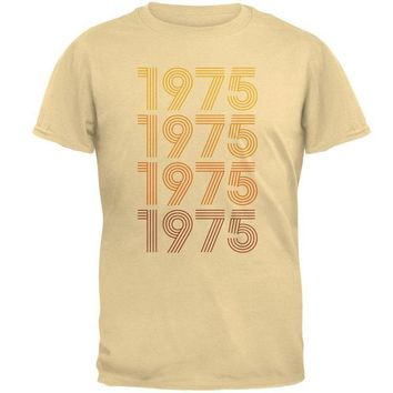 Chenier Retro Vintage Flashback Paralines Birthday 1975 Mens T Shirt