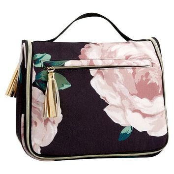 Emily & Meritt Floral Ultimate Hanging Toiletry Case
