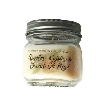 Apples Raisins & Bread Oh My Scented Candle