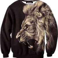 Lion Roar Crewneck