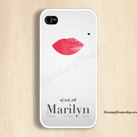 iPhone 5/5s, 5c, 4/4s & Samsung Galaxy S4, S3 cases | My week with Marilyn iPhone 5 case